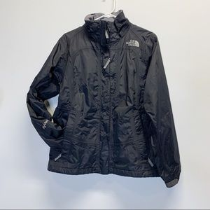 The North Face Black HyVent Jacket M Windbreaker
